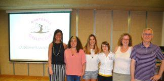 Sílvia Blanco, Chari Jordán, Maria Àngels Soria, Melodie Pulgarín, Cristina González i Gerard Mimó