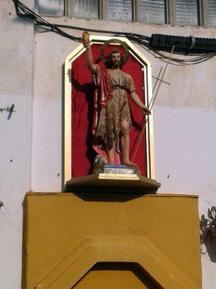 Talla de Sant Joan Baptista, patró de Can Bros