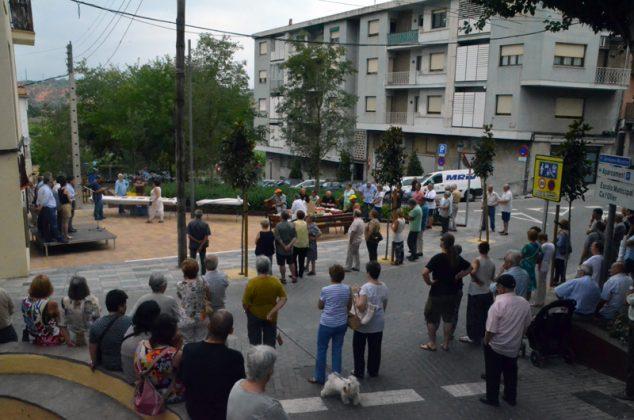 Inauguració de la plaça