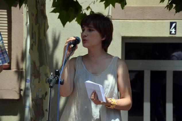 Maria Rodríguez, presidenta de l'Associació Amics de l'Art