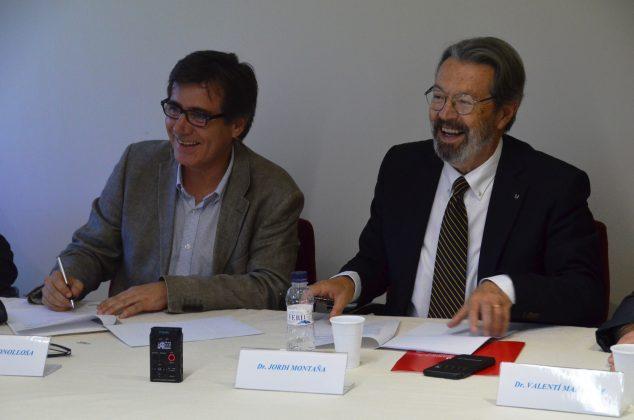 Xavier Fonollosa i Jordi Montaña