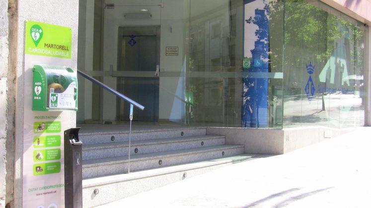 Desfibril·lador edifici Ajuntament