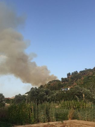 Incendi forestal El Congost