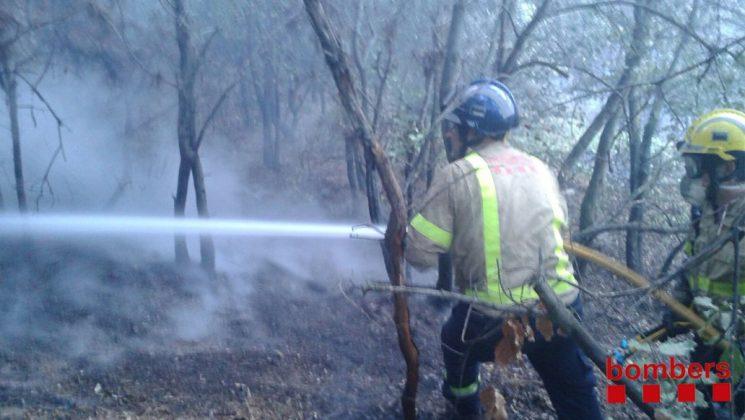 Incendi Martorell. Foto: Bombers Generalitat