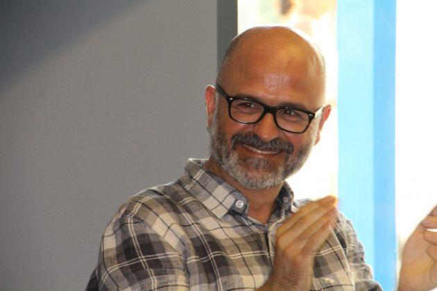 LLuís Cintas, marit Rosa Grau i dissenyador del llibre