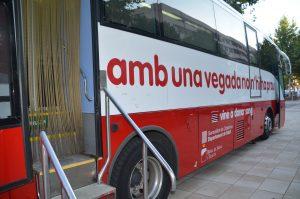 Donació de sang del Banc de Sang i Teixits