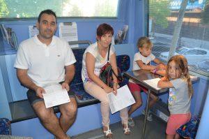 Donació de sang del Banc de Sang i Teixits. Manel Olivares i Sonia Pérez