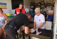 Donació aliments Creu Roja
