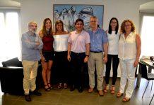 Signatura del conveni entre l'Ajuntament de Martorell i el Martorell Gimnàstic Club