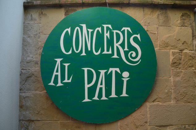 Concerts al pati, de l'Esplai d'Avis La Vila