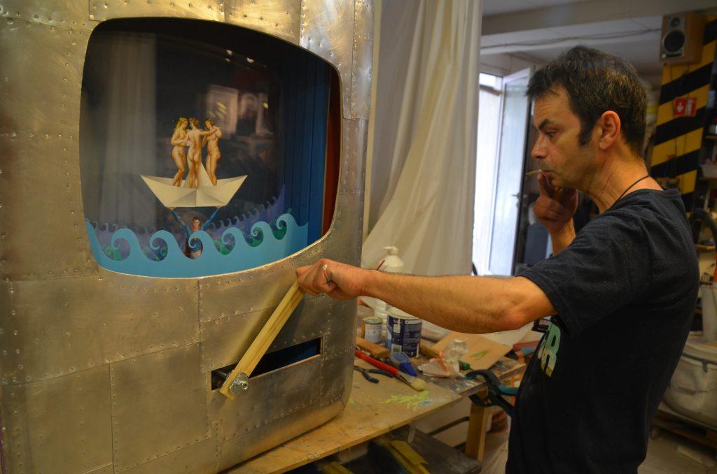 Mario Soria, artista martorellenc