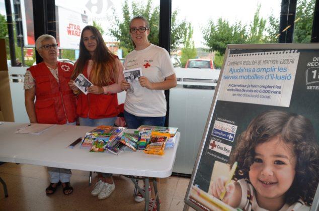 Tornada a l'Escola Solidària. Creu Roja del Baix Llobregat Nord. Carrefour Martorell