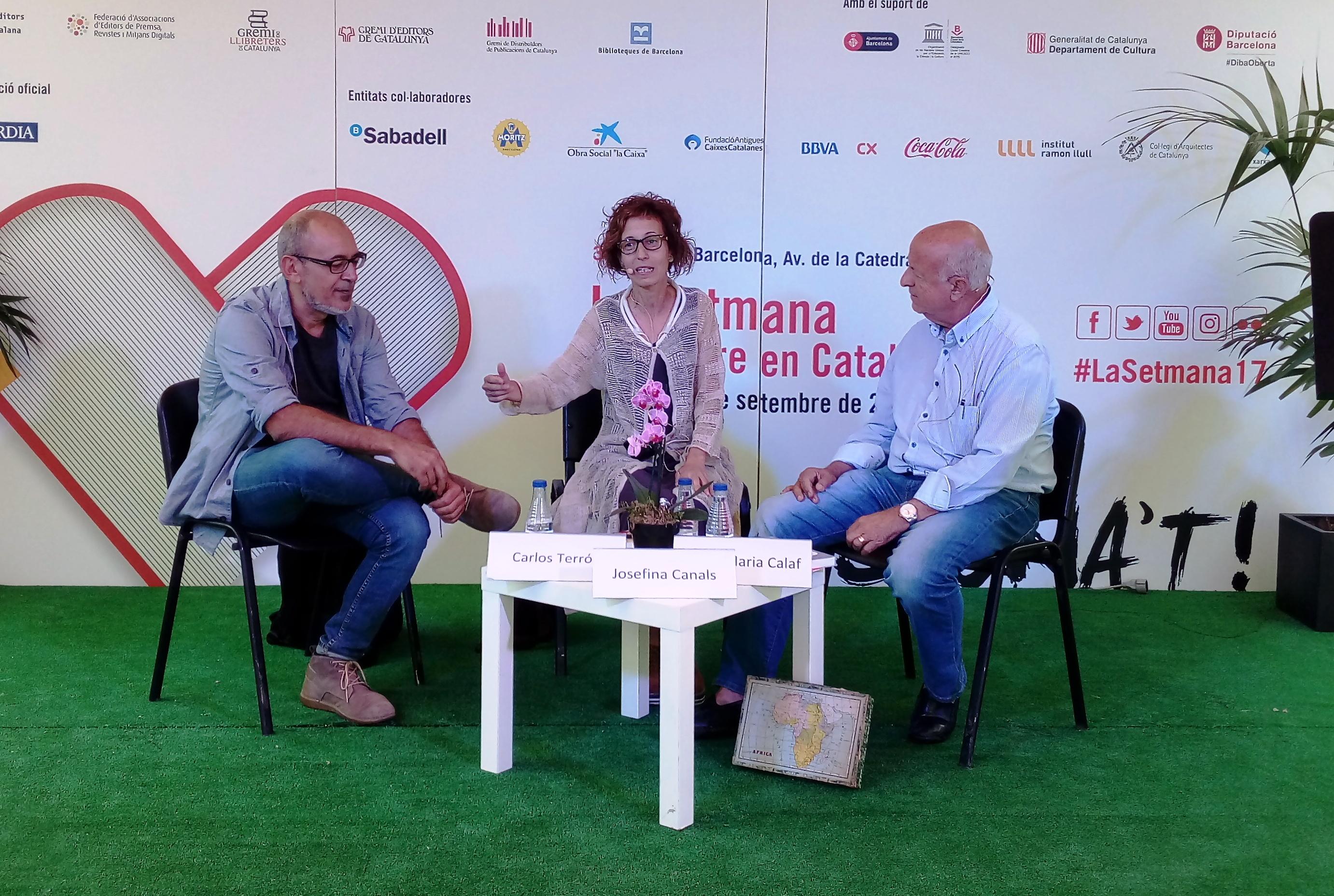 Guanyadors dels premis Vila de Martorell 2016, a la 35a Setmana del Llibre en Català