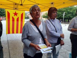 Montse Sánchez (Súmate). Acte del referèndum de l'1-O