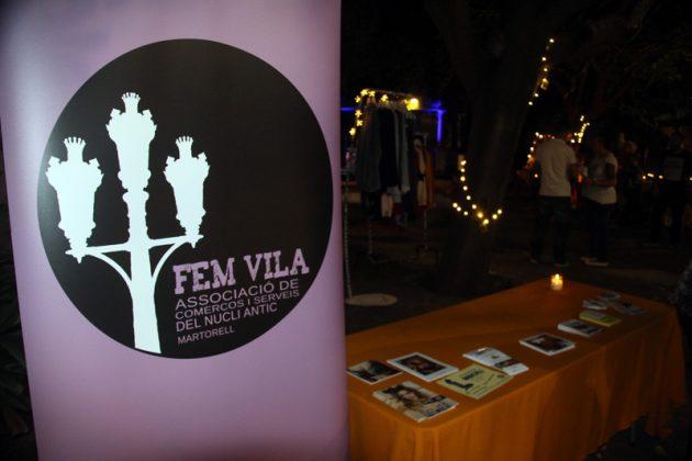 Vila Market Nit 2017. Vila Market Nit 2017. Fem Vila, associació de comerços i serveis del nucli antic. Jardins de l'Enrajolada