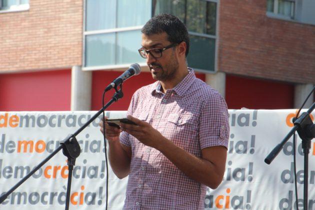 Crida per la democràcia. Acte d'Òmnium Cultural. Rambla de Les Bòbiles. Jordi Gibert