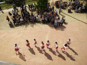 Setmana Gran de la Residència Sant Joan de Deu. Actuació dels bastoners