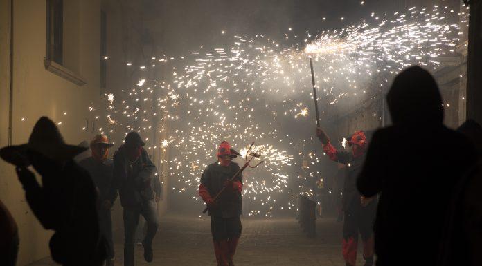 Festa del Roser 2017. Correfoc (Foto: Cristina Sánchez)