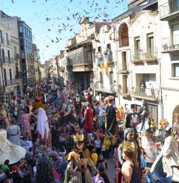 Festa del Roser 2017. Trobada gegantera