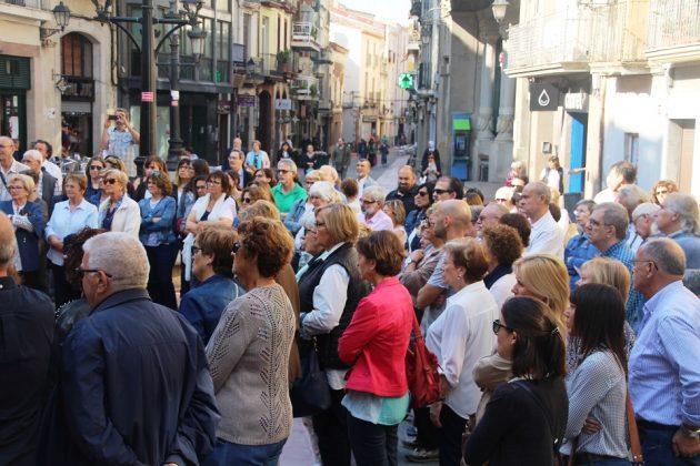 Concentració de rebuig a l'empresonament de Jordi Sánchez i Jordi Cuixart