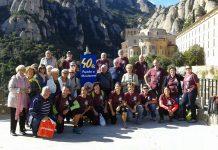 40a Pujada a Montserrat Penya Barcelonista de Martorell