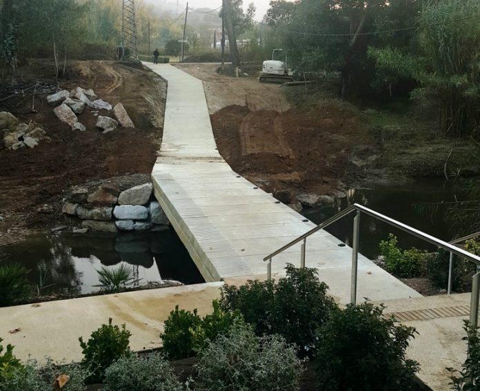 Gual inundable camí del cementiri