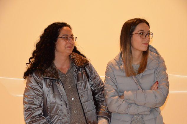 Les regidores Míriam Riera i Belén Leiva