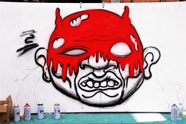 Panells dels Amics de l'Art al passeig de Catalunya. IntARTvencions