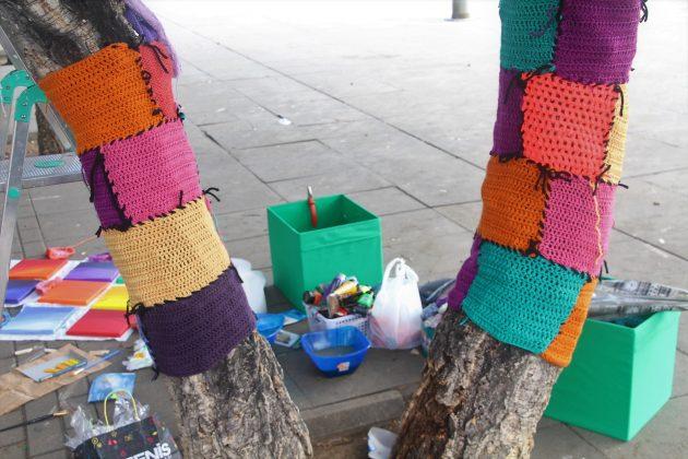 Creacions a la plaça de les Cultures, a 'IntARTvencions'