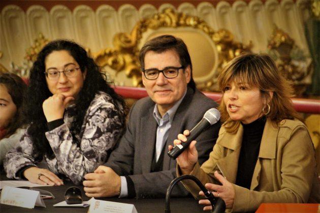 Consell d'Infants. Míriam Riera, Xavier Fonollosa i Núria Canal. El Progrés