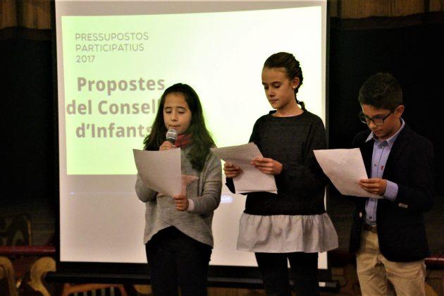 Presentació de propostes del Consell d'Infants. El Progrés