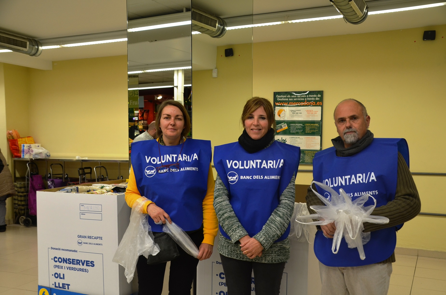 Voluntaris Banc dels aliments