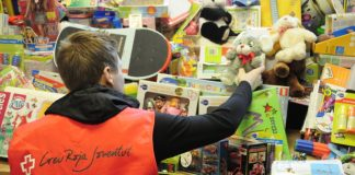 Creu Roja recollida joguines