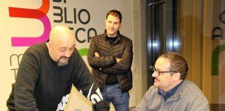 Xesco Bueno, David Caballero i Luís Manuel Barba