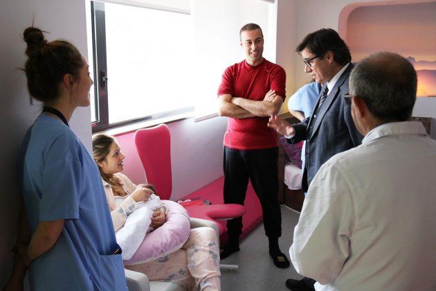 Primer naixement casa de parts Hospital de Martorell