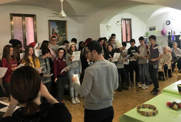 Alumnes Joan Oró a la Residència Anoia