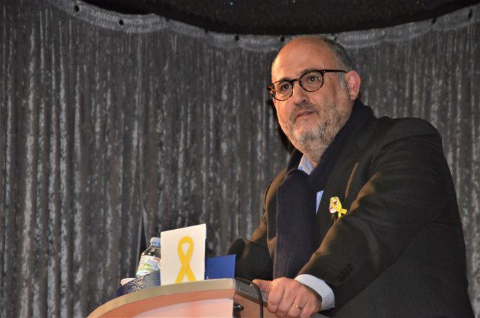Miting de Junts per Catalunya. Eleccions 21D. Casa de Cultura La Vila