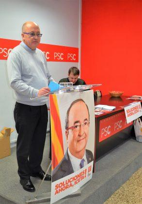 Lluís Tomàs, portaveu PSC Martorell