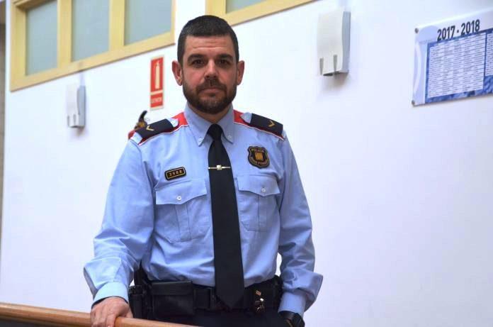Albert López, caporal Mossos d'Esquadra Martorell
