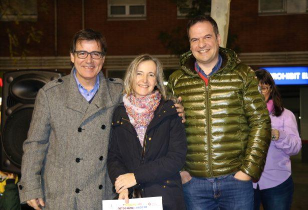 La mare de Meritxell Pons recull el premi 'Martorell Saludable'