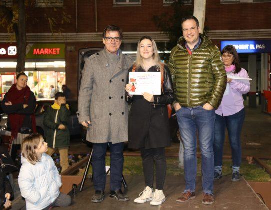 Blanca Vidaña recull el premi 'Martorell Saludable'