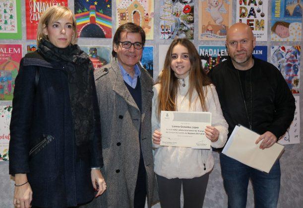 Lorena González, millor artista local menor 16 anys cartell Nadalem