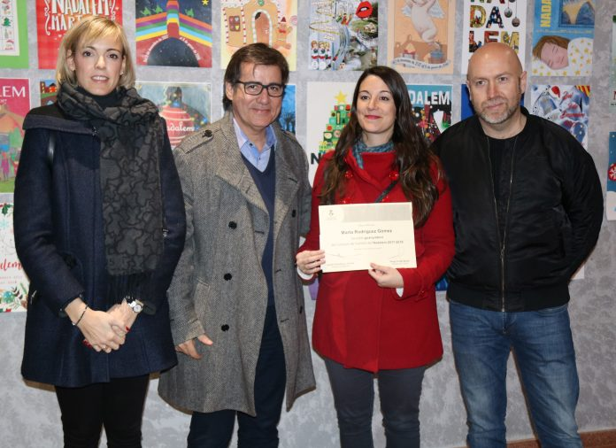 Marta Rodríguez, guanyadora cartell Nadalem