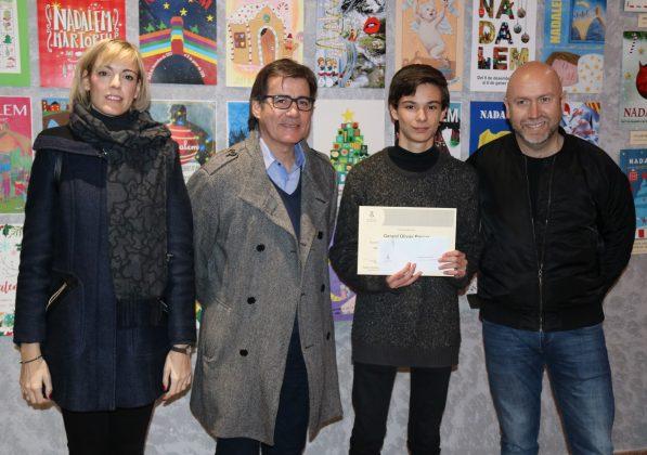 Gerard Olivas, millor artista local menor 16 anys cartell Carnaval