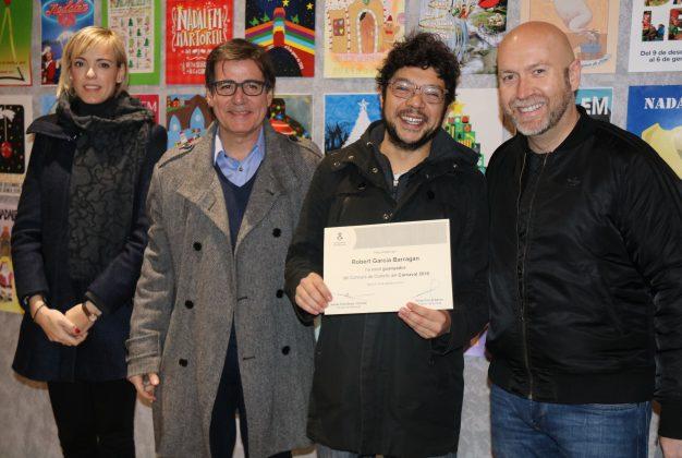 Robert Garcia, guanyador cartell Carnaval