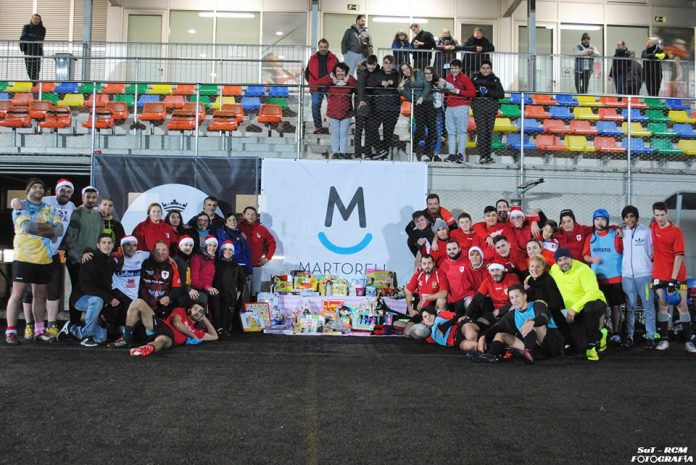 Recollida joguines Rugby Club Martorell