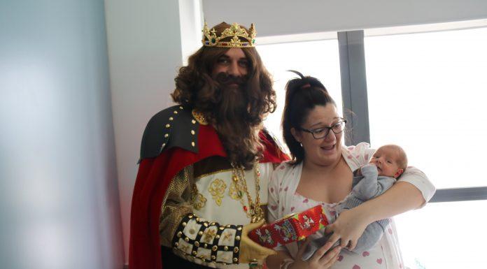 Visita dels Reis Mags a l'Hospital Sant Joan de Déu