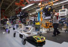 Robots autònoms de SEAT. Foto: EFE