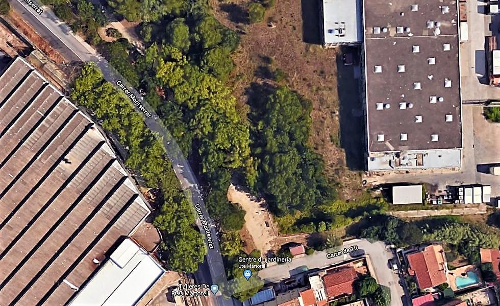 Espai d'ubicació de la vil·la romana