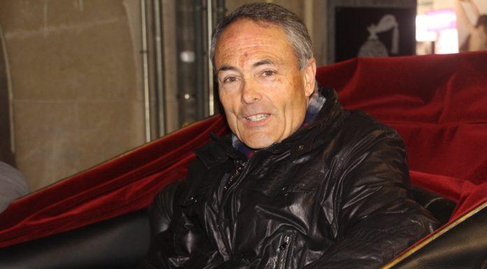 Rafael López, president Amics de Sant Antoni
